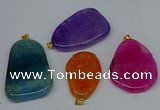 NGP8732 28*40mm - 30*54mm freeform agate pendants wholesale